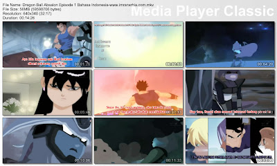 "Download Film / Anime Dragon Ball AF Absalon Episode 01 ""Tak Ada Jalan Keluar"" Bahasa Indonesia"