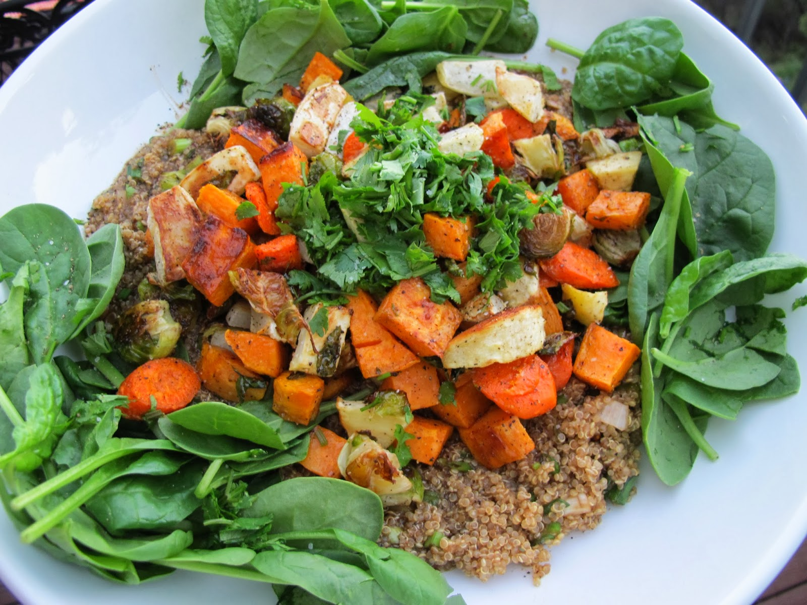 ... Quinoa Salad with Roasted Autumn Vegetables or a Vegan Thanksgiving