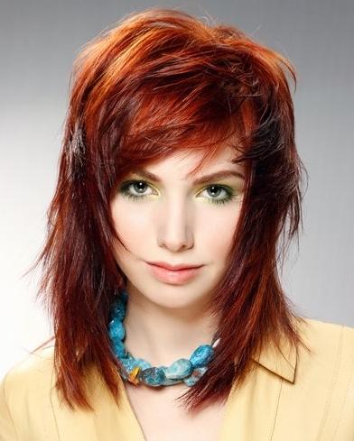 Salon Hair Style : MEDIUM LENGTH HAIRCUT: MEDIUM LAYERED HAIRSTYLES CAN CHANGE YOUR LOOK