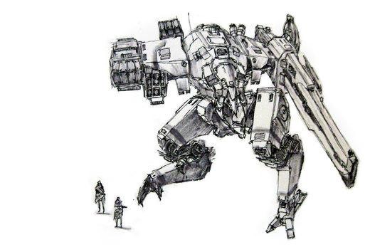 Mech 07  Medium Assault Anti-A por funkychinaman