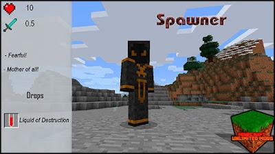XtraCraft Mod spawner