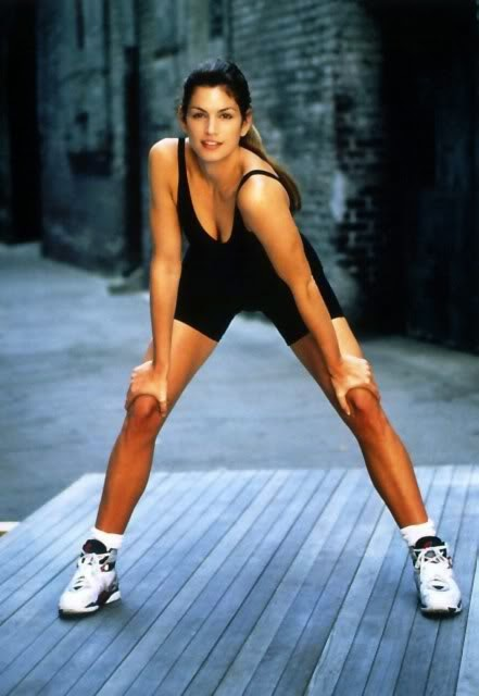 Cindy Crawford in Jordans