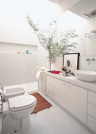 Arquitetura à mão! Banheiros e Suítes -> Largura Nicho Banheiro