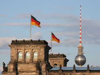 Fernsehturm, Berlin TV Tower (view from Reichstag)| Where to go in Berlin - Travel Europe Guide