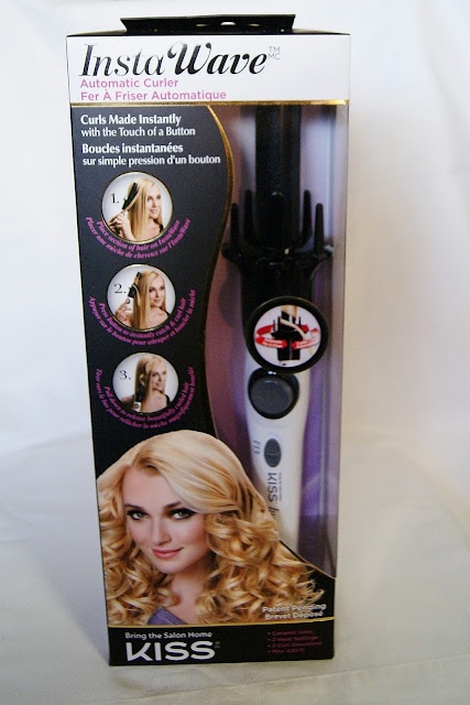 Kiss InstaWave Automatic Curler Review, beauty, haircare, style, iron, the purple scarf, melanie.ps, toronto, ontario, canada