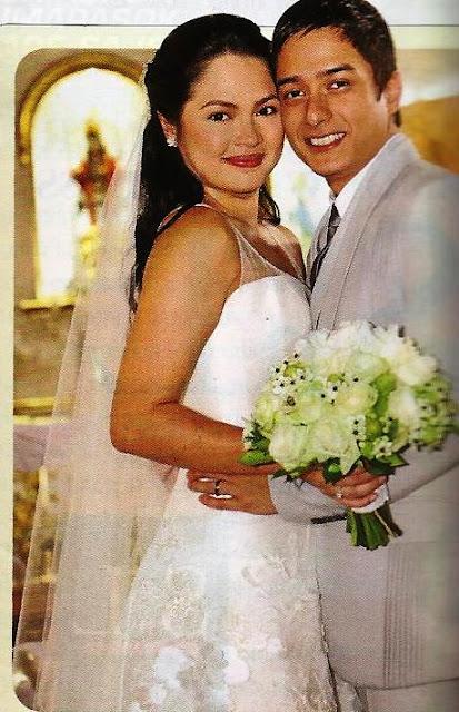 celebrity bride Judy Ann Santos