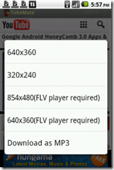 Aplikasi Download Video Youtube dari Android 4
