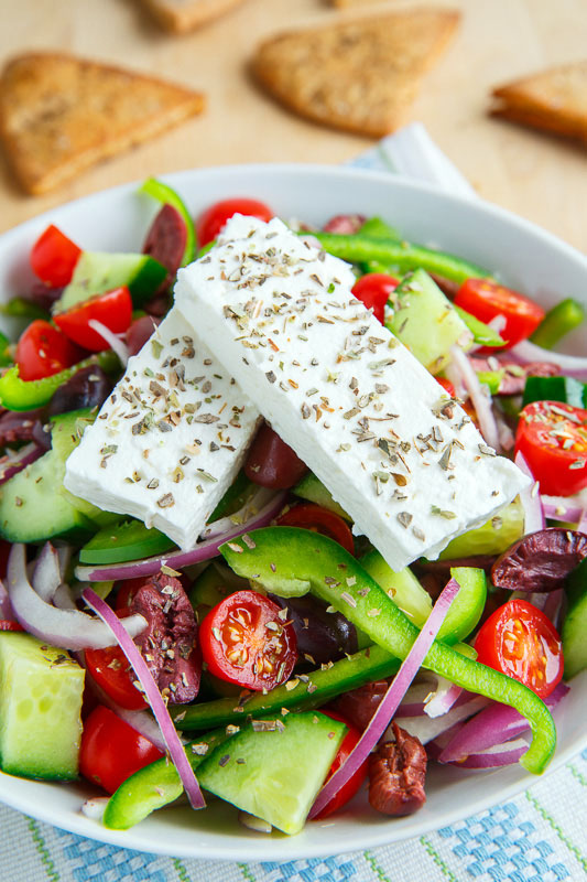 Greek Salad (Horiatiki Salata)