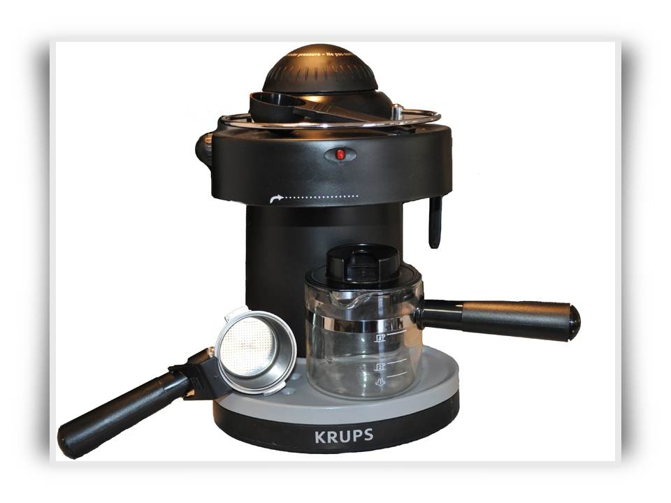 krups steam espresso machine for coffee lovers. Black Bedroom Furniture Sets. Home Design Ideas