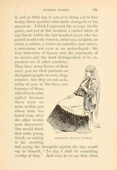 Albanian peasant women(Athens)