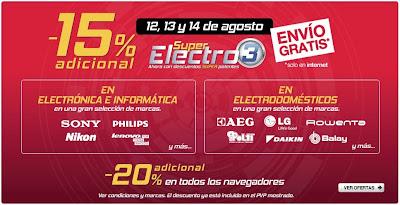 super electro 3 corte ingles 13-8-2013