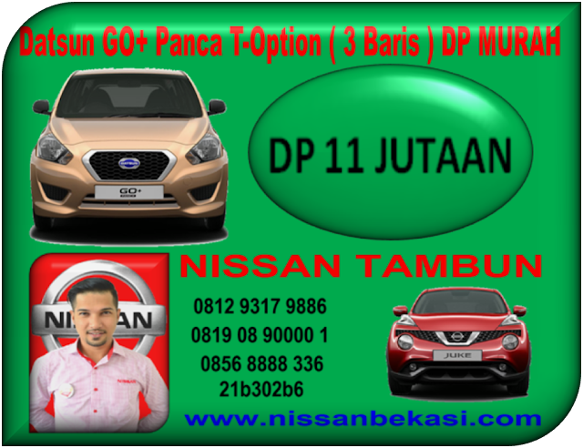 PROMO DATSUN GO+ PANCA T-OPTION DP MURAH