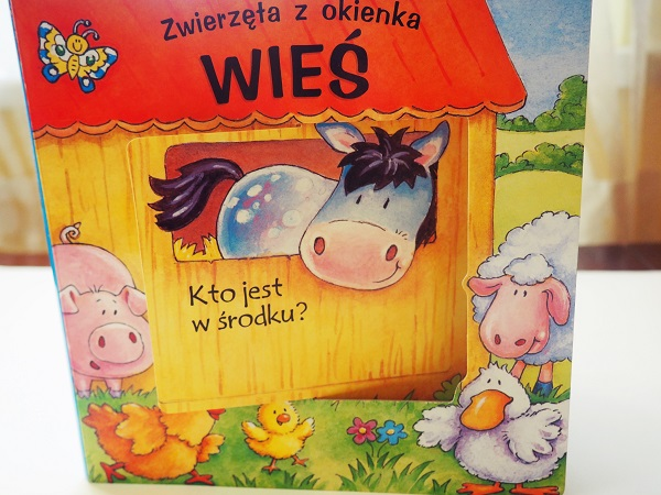 koń, kura, świnka, krowa