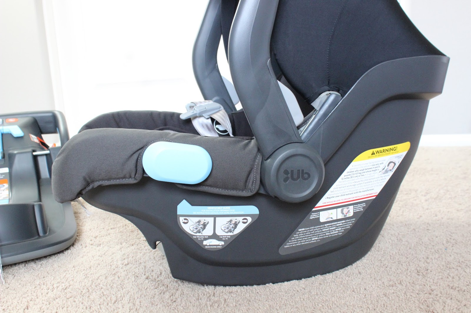 Uppababy mesa infant carseat overview the mercedes benz for Mercedes benz baby pram