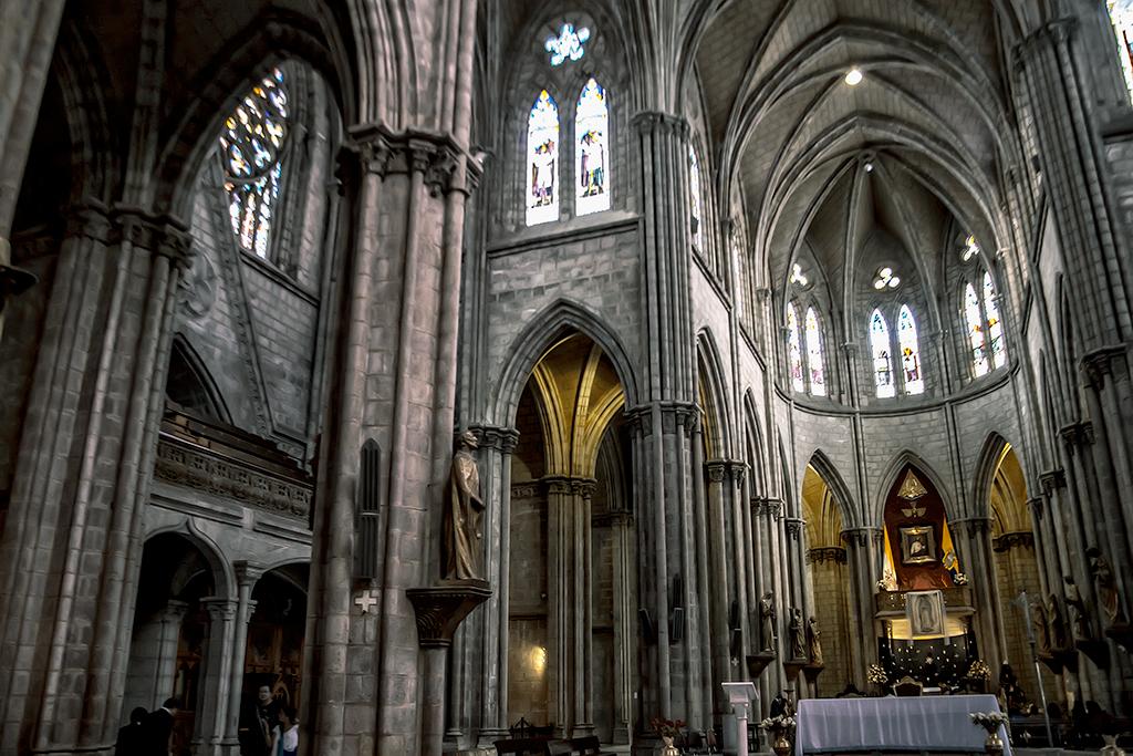 Altar de la Basílica del Voto Nacional, Quito, Ecuador