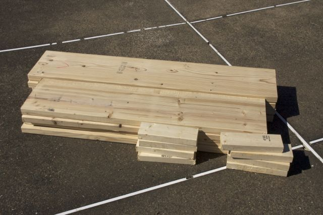 Photography Damentions: Constructing Raised Bed Frame