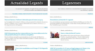 Fragmento página web www.ecoleganes.org