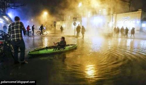 Fenomena Aneh, Banjir Air Panas di Sweden.