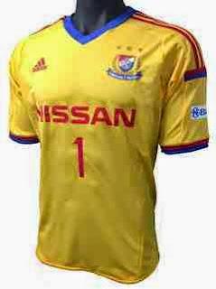jersey yokohama away, yokohama home 2014/15, tempat jual baju bola yokohama online, online shop terpercaya, tempat jual kostum bola yokohama goalkeeper
