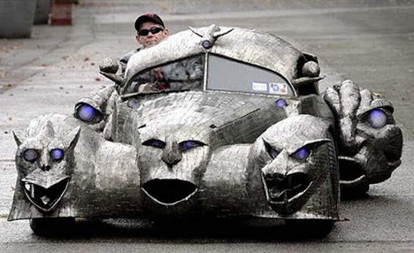 The Phantom by W.T. Burge - Art Car Central