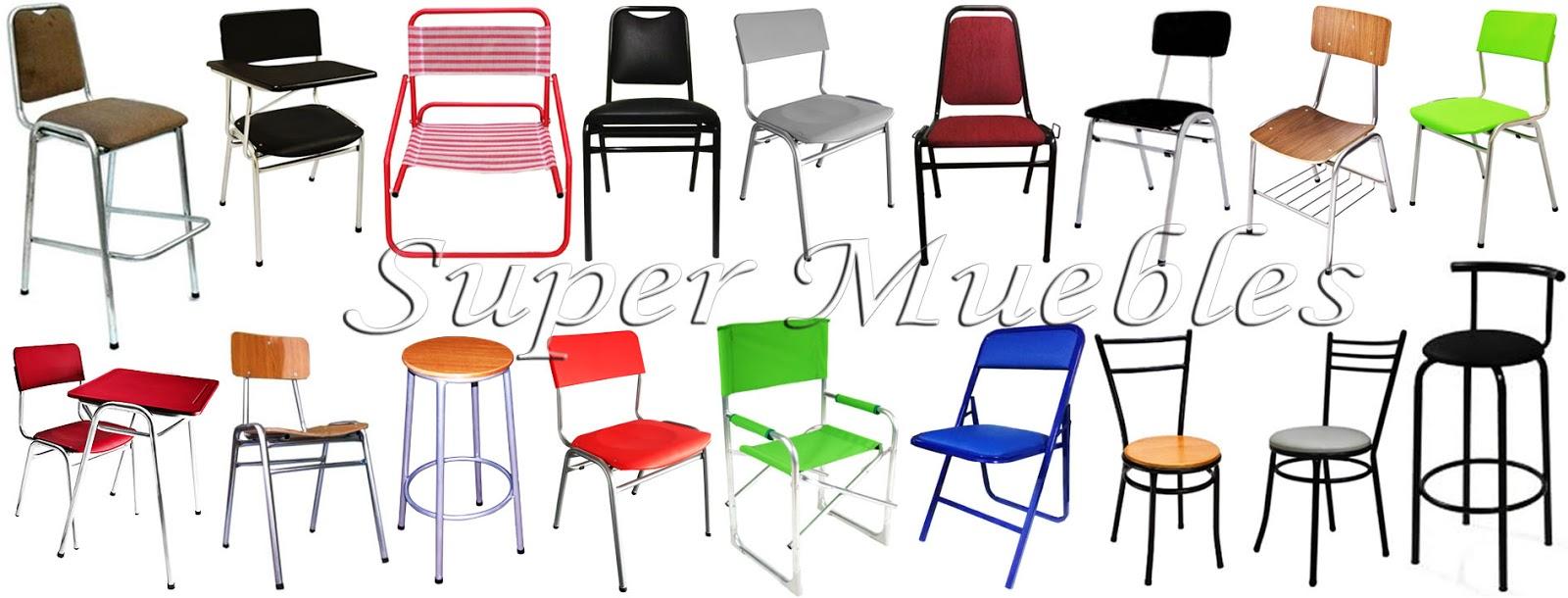 Super muebles sillas apilables variedad de modelos for Muebles super economicos