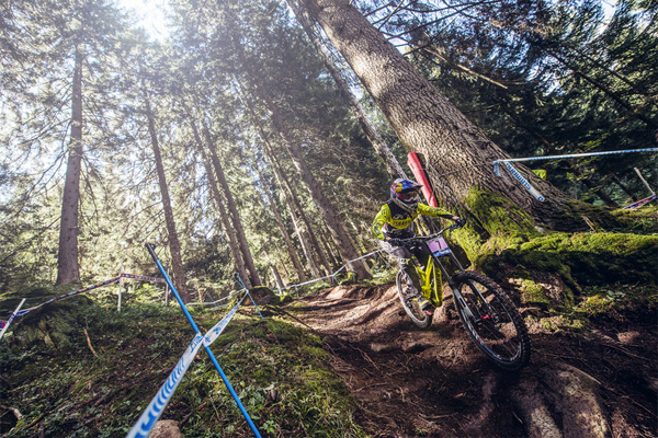 2015 Val Di Sole UCI World Cup Downhill: Highlights Myriam Nicole