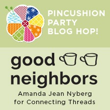 pincushion party blog hop