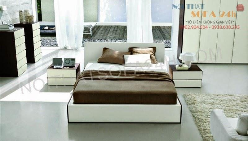 Giường ngủ GN075
