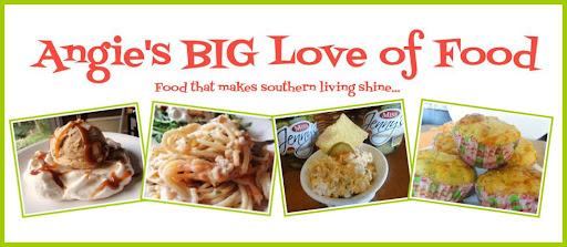 Angie's BIG Love of Food