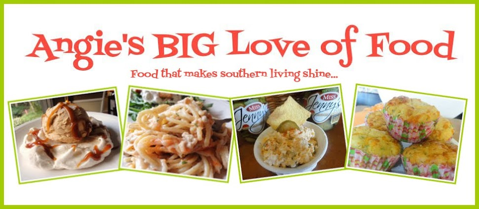Angie's BIG Love of Food