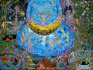 ayahusca visionary art