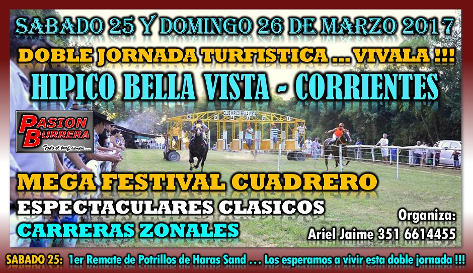 BELLA VISTA - 25 Y 26 DE MARZO