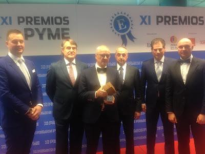 Antonaga recibe el Premio Mejor PYME del año 2015