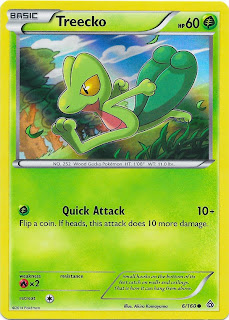 Treecko Primal Clash Pokemon Card