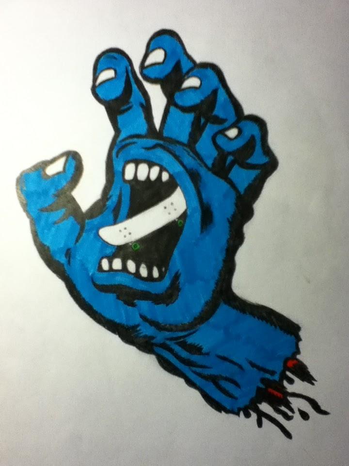 Maxime moffatt blog d 39 art dessin de mon sac r utilisable for Interieur de la bouche