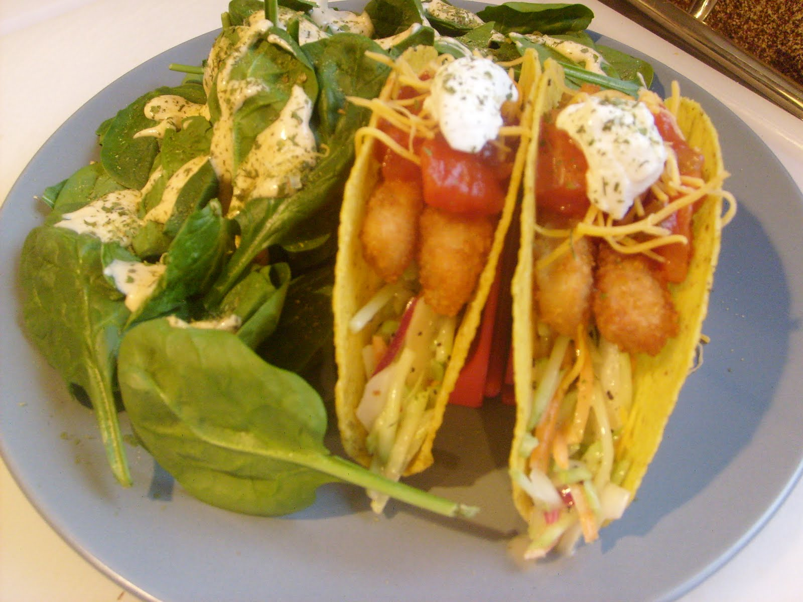 Lindsey 39 s kitchen fish stick tacos for Fish stick tacos