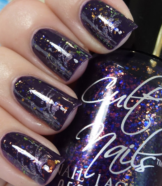 Elaine, Princess Tears a-england, Seduction, Cult Nails, BM04, swatch
