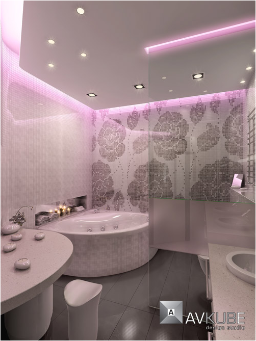 Romantic bathroom design ideas room design ideas for Bathroom romance photos