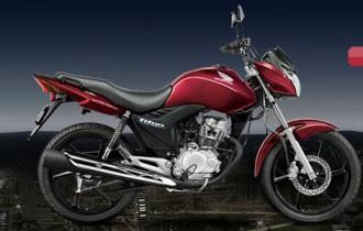 Nova Honda Cg 2013 titan