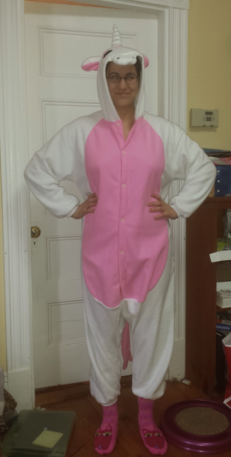 Fleece Unicorn Onesie