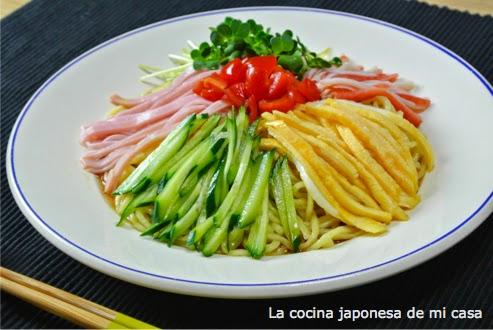 La cocina japonesa de mi casa hiyashi chuka - La cocina de mi casa ...