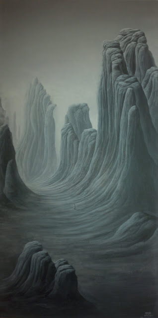 "Mount Xianxu, Wang Tianxuan, ""Mountain Lore"", Art Seasons Gallery, #02-21/24, 1 Selegie Road, Singapore"