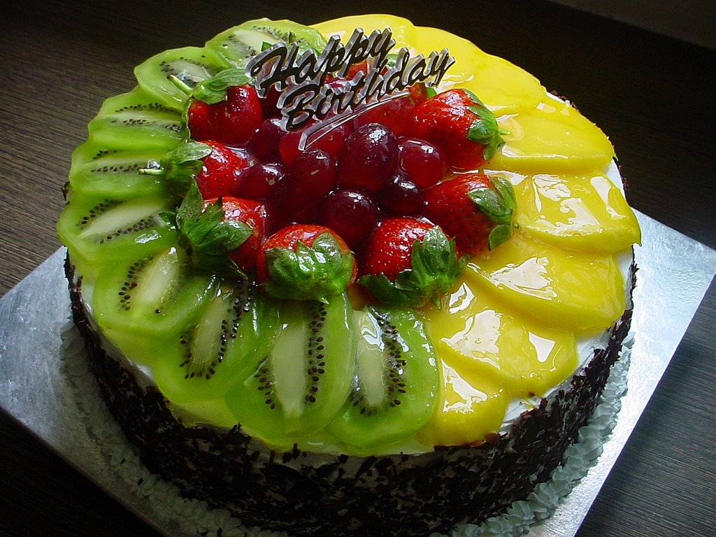 Happy Birthday Fruit Cake Images/Birthday Fruit Cake HD ...