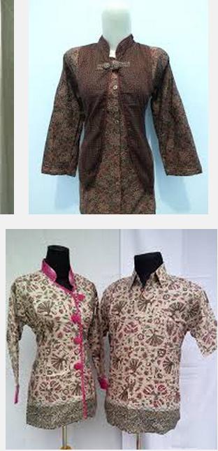 Model baju batik wanita sarimbit keluarga muslimah gamis Model baju gamis batik muslimah terbaru