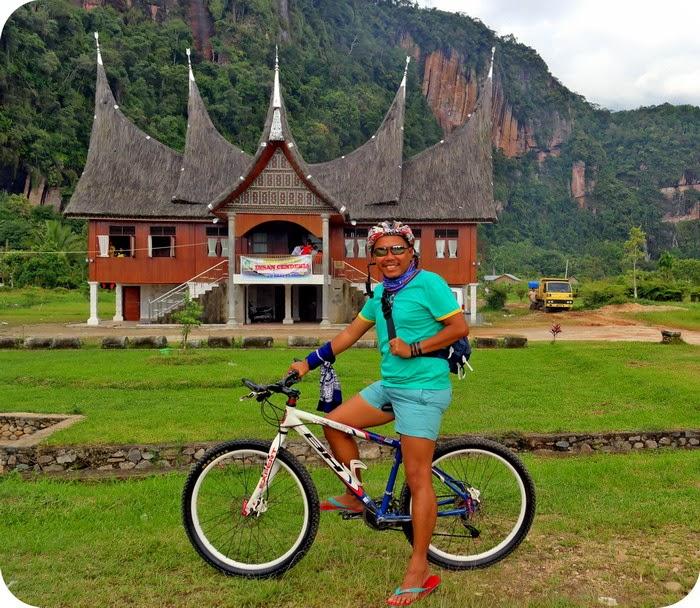 Rumah Gadang Di Lembah Harau Sumatera Barat