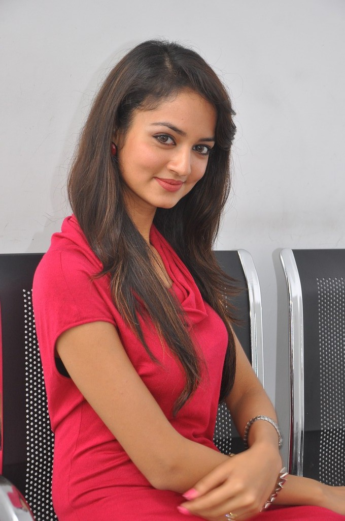 Shanvi Latest Photos at Adda Success Meet