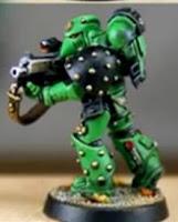 Marine Espacial Veterano de los Salamandras