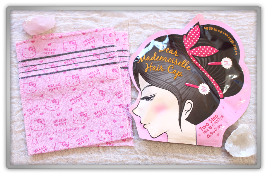 겟잇뷰티박스 by 미미박스 memebox beautybox Memebox Special #21 Hair & Body 3 unboxing review shabath hello kitty towel shara dear mademoiselle