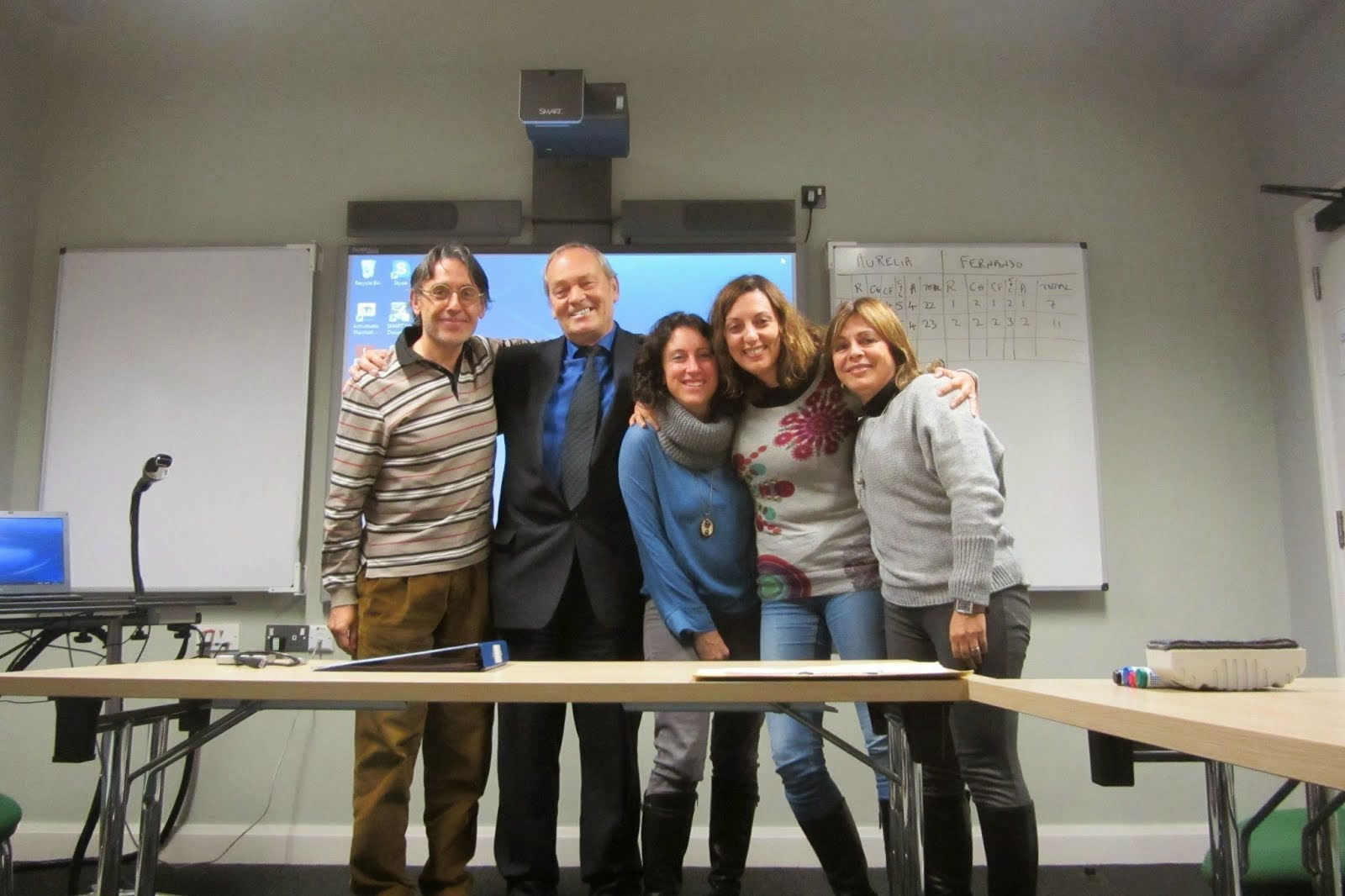 Con Dave Allan del Nile Institute