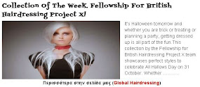 Collection Of The Week. Fellowship For British Hairdressing Project X!